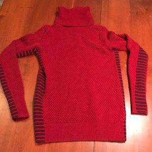 Athleta merino wool turtleneck sweater size M